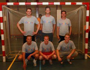 Floris Wulffele Google Partners voetbalteam