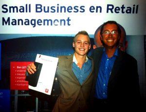Floris Wulffele afgestudeerd Small Business en Retail Management 2011